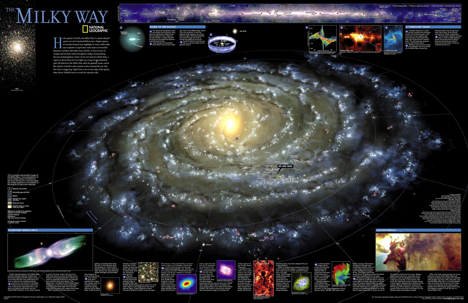 milky way galaxy with measurements - photo #38