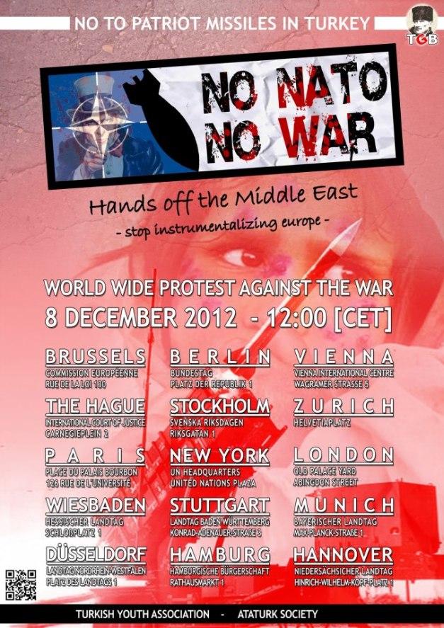 NO NATO NO WAR